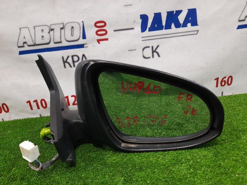 Зеркало Toyota Aqua NHP10 1NZ-FXE 2011 переднее правое правое, 7 контактов, с повторителем (52-231). В