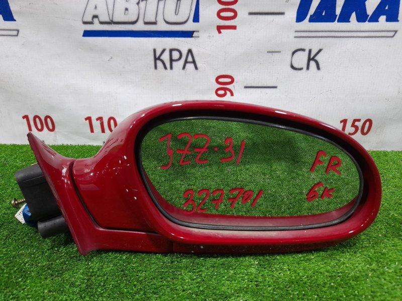 Зеркало Toyota Soarer JZZ31 2JZ-GE 1991 переднее правое Правое, 5 контактов. Есть пара царапинок,