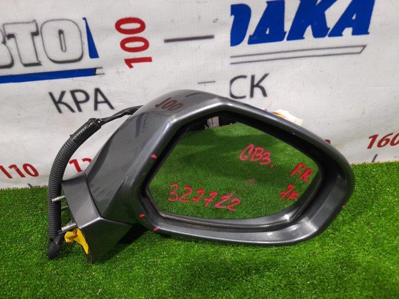 Зеркало Honda Freed GB3 L15A 2008 переднее правое Правое, с повторителем, 7 контактов, есть