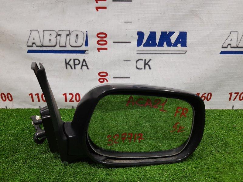 Зеркало Toyota Rav4 ACA21W 1AZ-FSE 2000 переднее правое Правое, 5 контактов. В ХТС