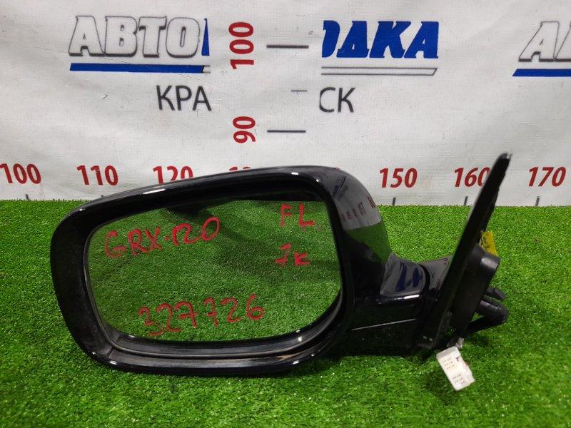 Зеркало Toyota Mark X GRX120 4GR-FSE 2004 переднее левое Левое, с повторителем, 7 контактов, есть