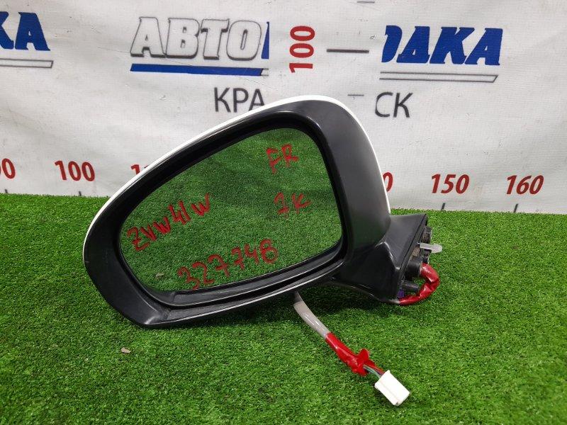 Зеркало Toyota Prius A ZVW41W 2ZR-FXE 2011 переднее левое Левое, 7 контактов, с повторителем. Есть