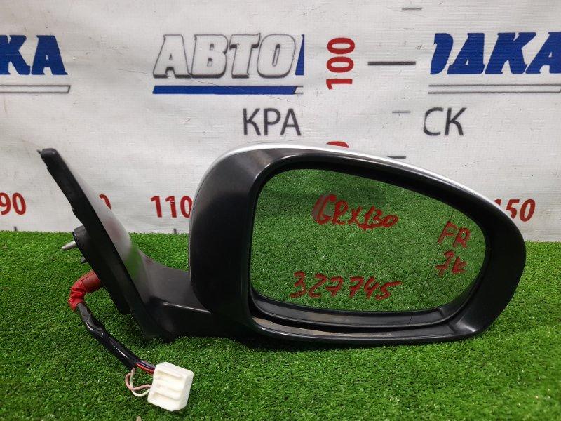 Зеркало Toyota Mark X GRX130 4GR-FSE 2009 переднее правое 87910-22A30 Правое, 7 контактов, с повторителем, в