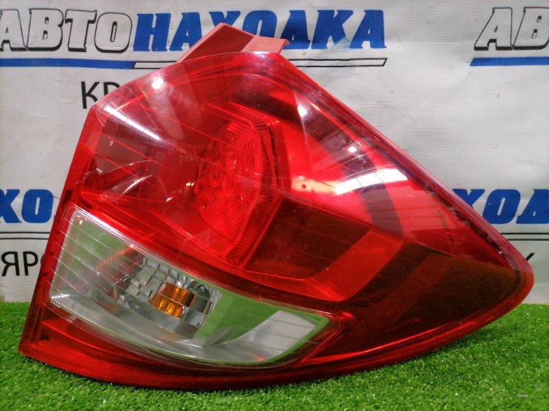 Фонарь задний Subaru Trezia NCP120X 1NZ-FE 2010 задний правый 52-227 правый, 52-227, диодный, небольшой