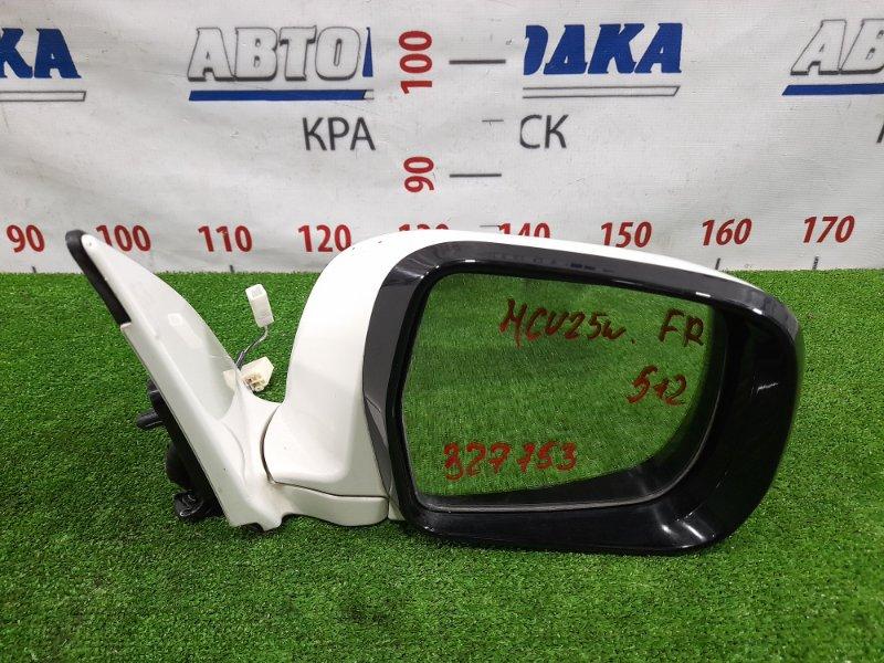 Зеркало Toyota Kluger MCU25W 1MZ-FE 2000 переднее правое Правое, с повторителем, 5+2 контакта, есть