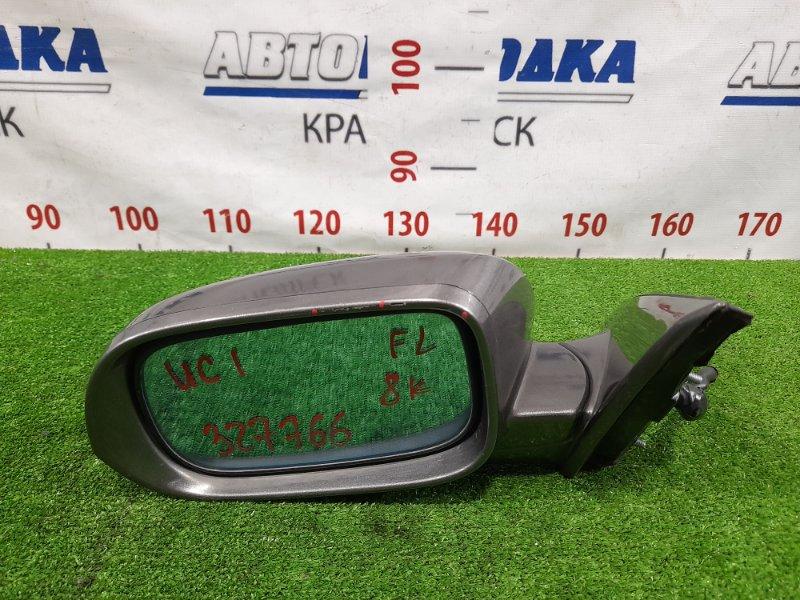 Зеркало Honda Inspire UC1 J30A 2003 переднее левое Левое, с повторителем, 8 контактов, есть