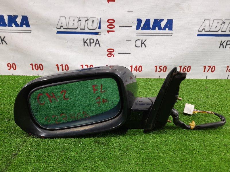 Зеркало Honda Accord CM2 K24A 2002 переднее левое Левое, с повторителем, 7 контактов, есть