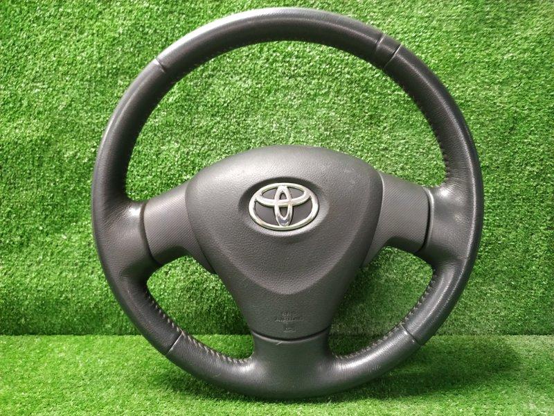 Airbag Toyota Auris ZRE152H 2ZR-FE 2006 водительский с рулем, кожа, с подушкой, без заряда, есть