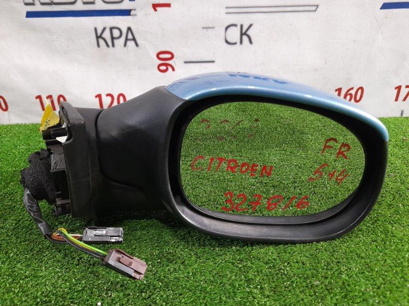 Зеркало Citroen C3 F TU5JP4 2001 переднее правое правое, 4+5 контакта, в ХТС.