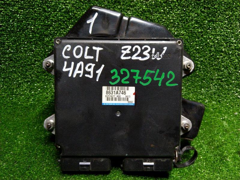 Компьютер Mitsubishi Colt Plus Z23W 4A91 2009 8631A746, E6T74677