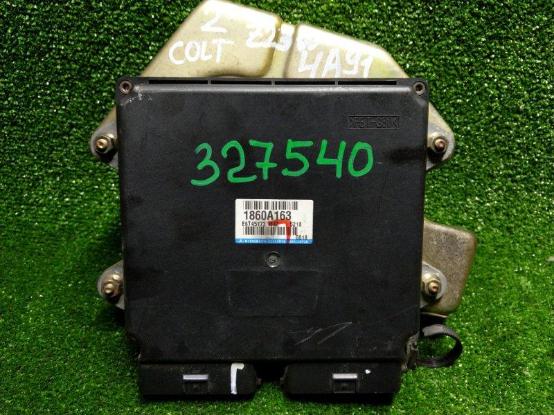 Компьютер Mitsubishi Colt Plus Z23W 4A91 2005 1860A163, E6T45173