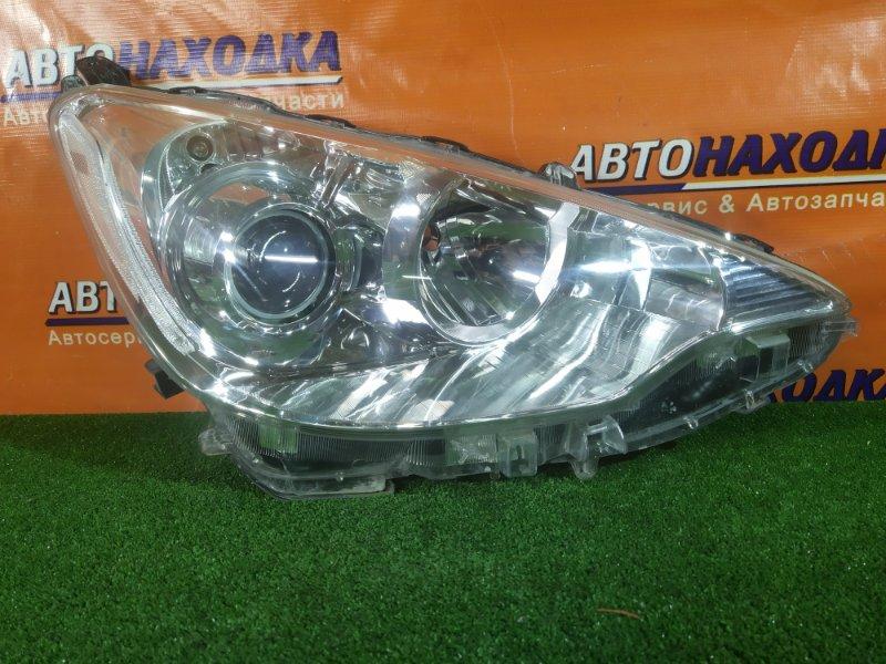 Фара Toyota Aqua NHP10 1NZ-FXE правая 52-244 1MOD, ГАЛОГЕН, КОРРЕКТОР