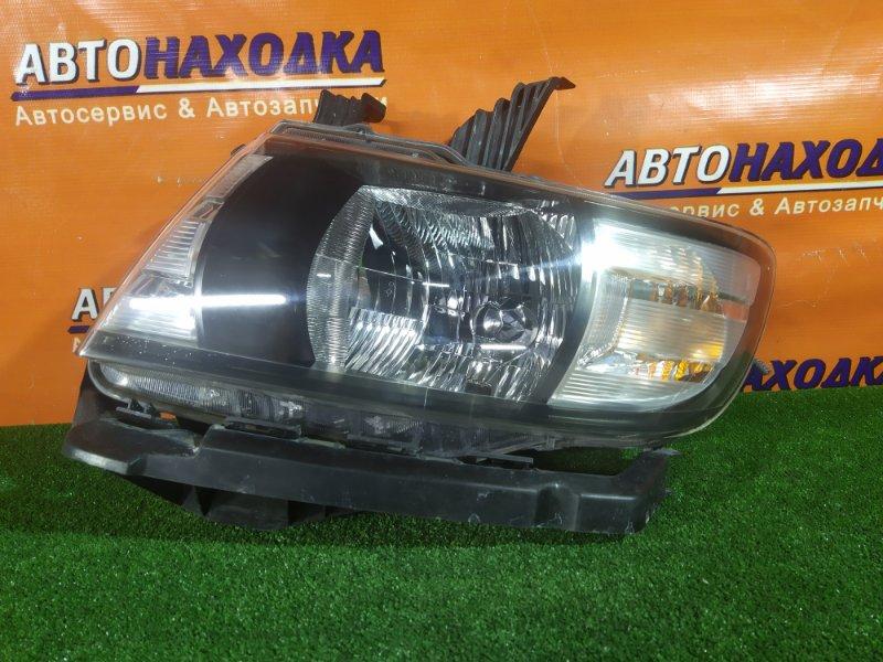 Фара Honda Mobilio Spike GK1 L15A левая 100-22610 2MOD, КСЕНОН. БЕЗ ЛАМПЫ. КОРРЕКТОР,