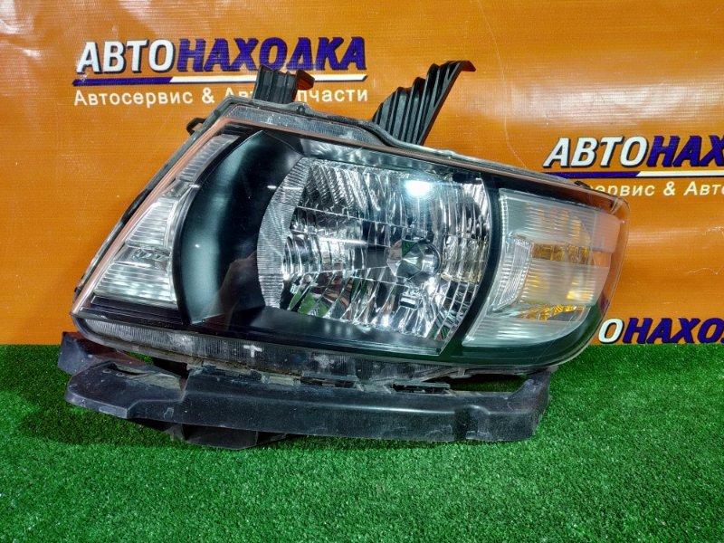 Фара Honda Mobilio Spike GK1 L15A 100-22609 2 мод галоген,корректор+планка под фару
