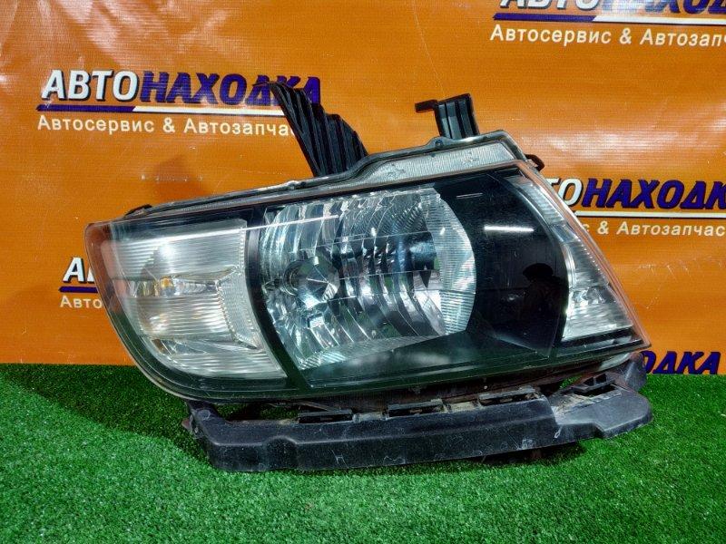 Фара Honda Mobilio Spike GK1 L15A правая 100-22609 2 мод галоген,корректор+планка под фару. В КОРПУСЕ