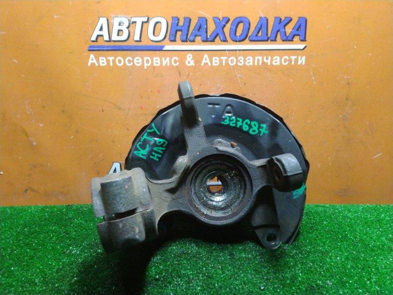 Ступица Honda Acty HA9 E07Z передняя правая ГОЛАЯ . БЕЗ ABS.