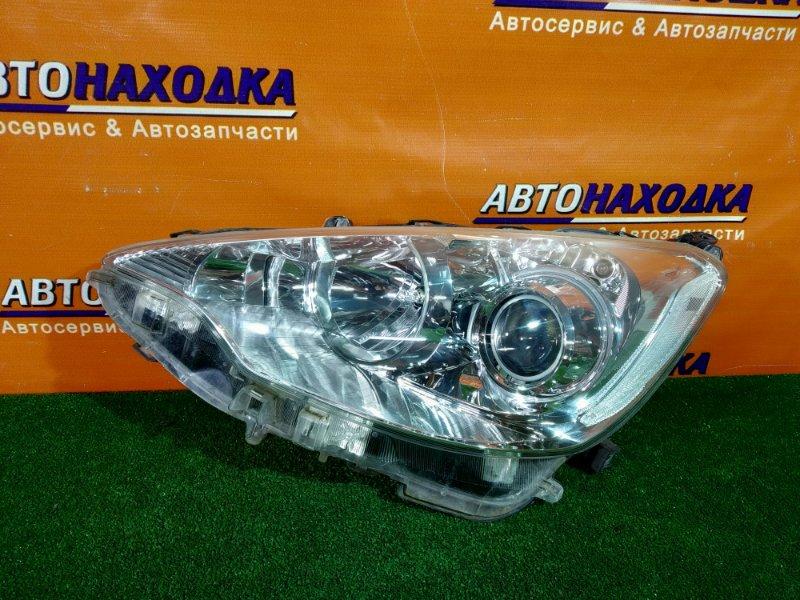 Фара Toyota Aqua NHP10 1NZ-FXE левая 52-244 1MOD, ГАЛОГЕН. КОРРЕКТОР