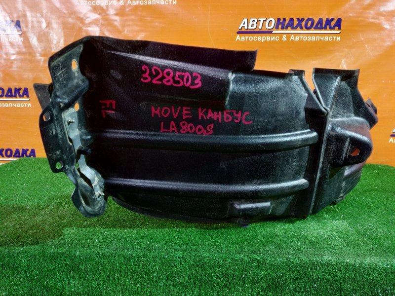 Подкрылок Daihatsu Move Canbus LA800S KF-VE4 передний левый 53876-B2480