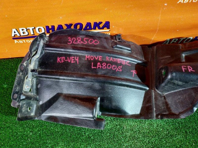 Подкрылок Daihatsu Move Canbus LA800S KF-VE4 передний правый 53875-B2480