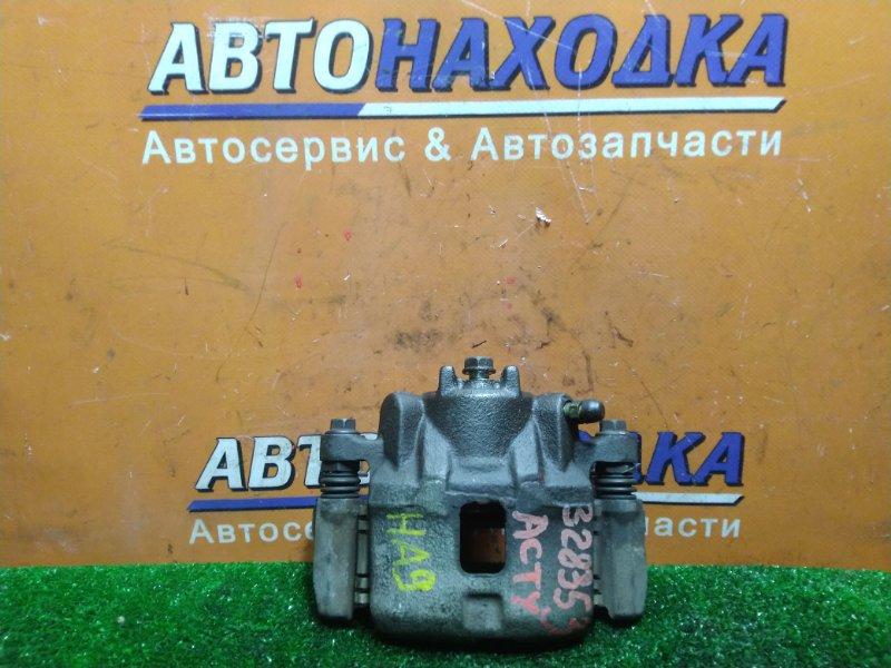 Суппорт Honda Acty HA9 E07Z передний левый 15CL12S НЕ ВЕНТ