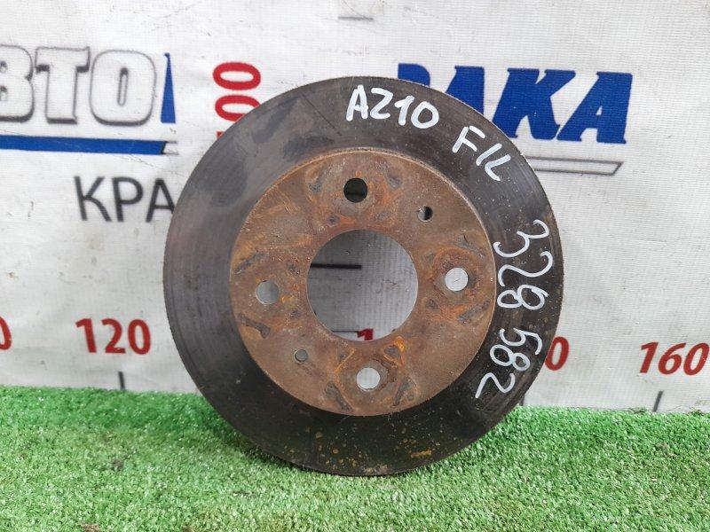Диск тормозной Nissan Cube AZ10 CGA3DE 1998 передний передний, диаметр 232 мм.