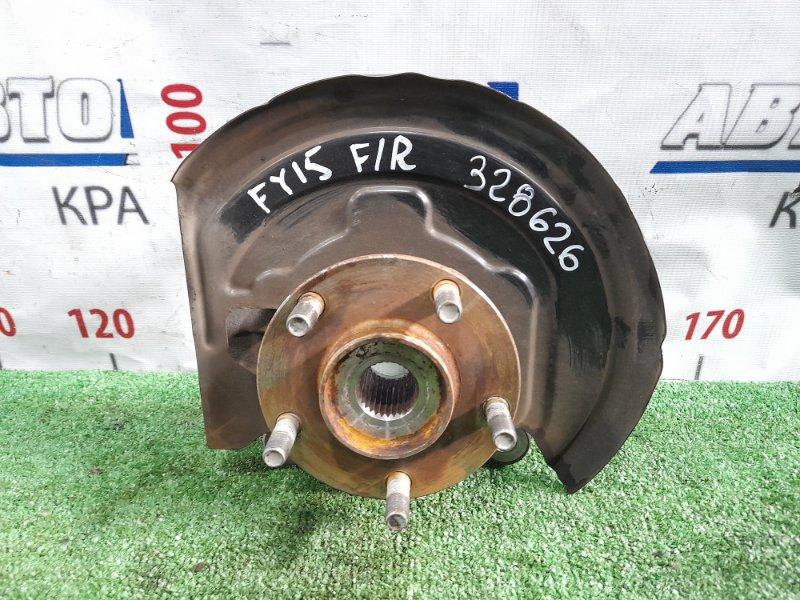 Ступица Nissan Juke YF15 HR15DE 2010 передняя правая 402021KA0A передняя правая, без диска и суппорта