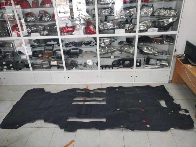 Обшивка пола Honda Stepwgn RF7 K24A 2003 ХТС, ковровое покрытие пола в салон, черная (код