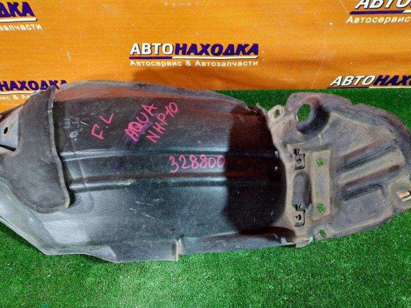 Подкрылок Toyota Aqua NHP10 1NZ-FXE передний левый 53876-52350