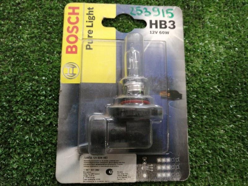 Лампа HB3 12V 60W BOSCH