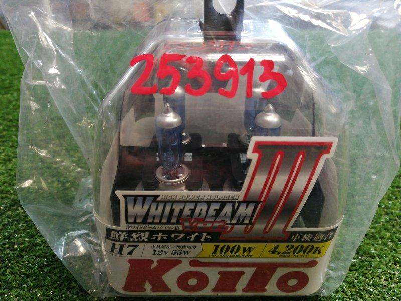 Лампа H7 12V 55W=>100W PX26d T11 WHITEBEAM III