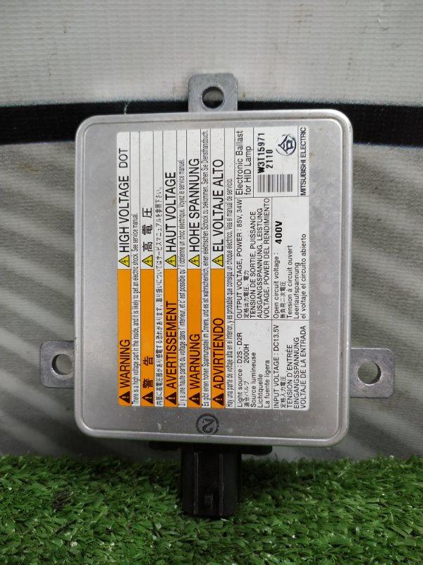 Блок розжига ксенона Suzuki Wagon R MH23S K6A W3T15971 D2R/D2S