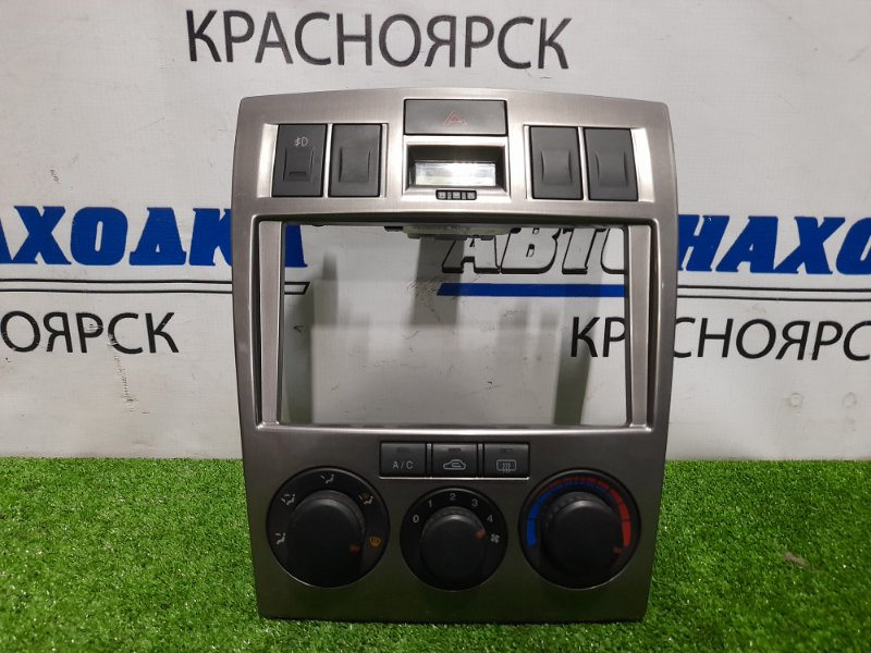 Климат-контроль Hyundai Coupe GK G6BA 2002 97250-2CXXX Электронный, с рамкой, часами