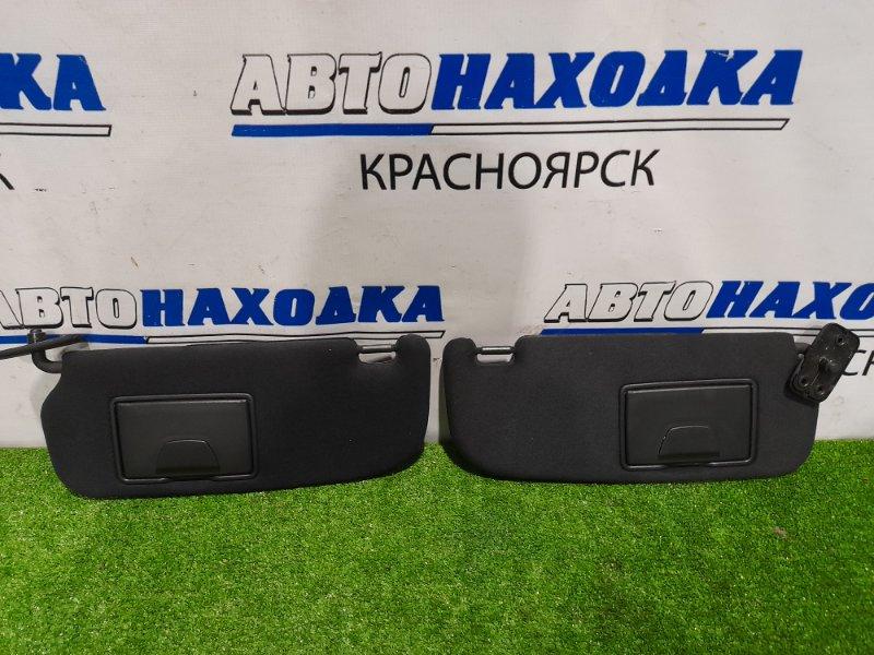 Козырек солнцезащитный Hyundai Coupe GK G6BA 2002 пара L+R, с зеркалами, в хорошем состоянии.