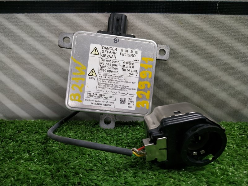 Блок розжига ксенона Nissan Dayz B21W 3B20 W3T24571 D4R/D4S , с проводом под лампу