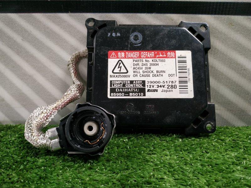 Блок розжига ксенона Daihatsu Tanto L350S EF-VE 85960-B5010, 39000-51787 D4S / D4R