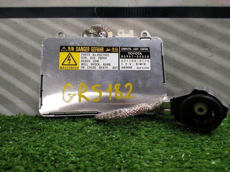 Блок розжига ксенона Toyota Crown GRS182 3GR-FSE 85967-52020 D2S / D2R