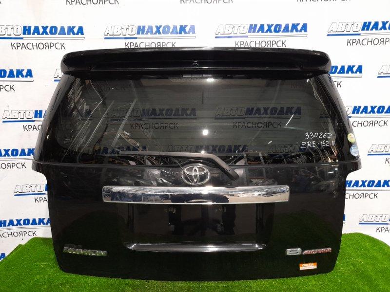 Дверь задняя Toyota Corolla Rumion ZRE152N 2ZR-FE 2007 задняя в сборе, c камерой З/Х, со спойлером. Дверь