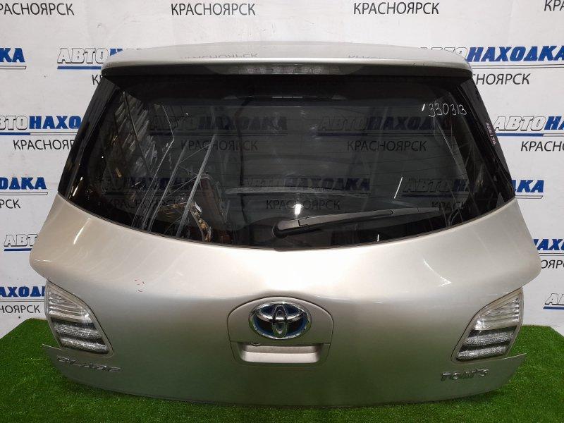 Дверь задняя Toyota Blade AZE156H 2AZ-FE 2006 задняя В сборе, цвет 1C0. С камерой З/Х, есть пара