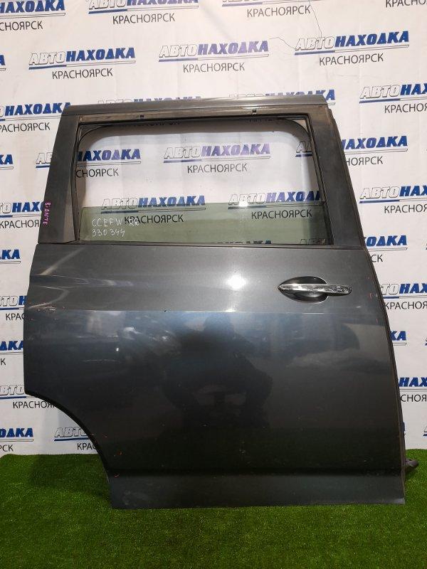 Дверь Mazda Biante CCEFW LF-VD 2008 задняя правая Задняя правая, в сборе, цвет 36C, есть потертости