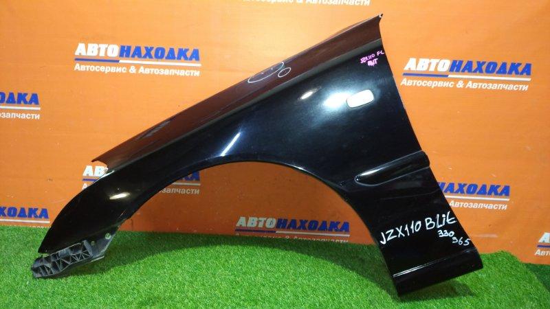 Крыло Toyota Mark Ii Blit JZX110W 1JZ-FSE 2002 переднее левое есть царапины / клипса