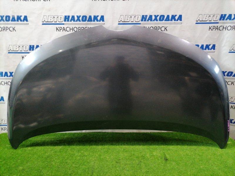 Капот Mazda Biante CCEFW LF-VDS 2008 передний Темно-серый (36C), повреждение ЛКП, под покраску
