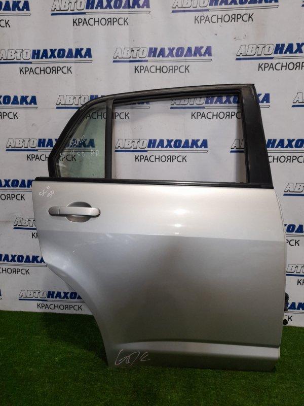 Дверь Nissan Tiida Latio SC11 HR15DE 2004 задняя правая задняя правая, в сборе, цвет KY0, есть мелкий