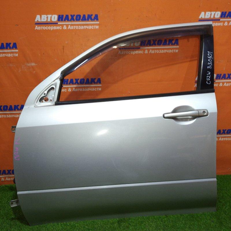 Дверь Mitsubishi Airtrek CU2W 4G63 2001 передняя левая