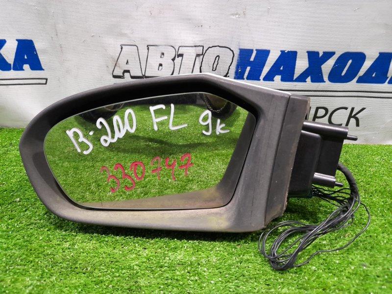 Зеркало Mercedes-Benz B200 W245 M266 E20 2008 переднее левое Левое, 9 контактов, с повторителем, есть