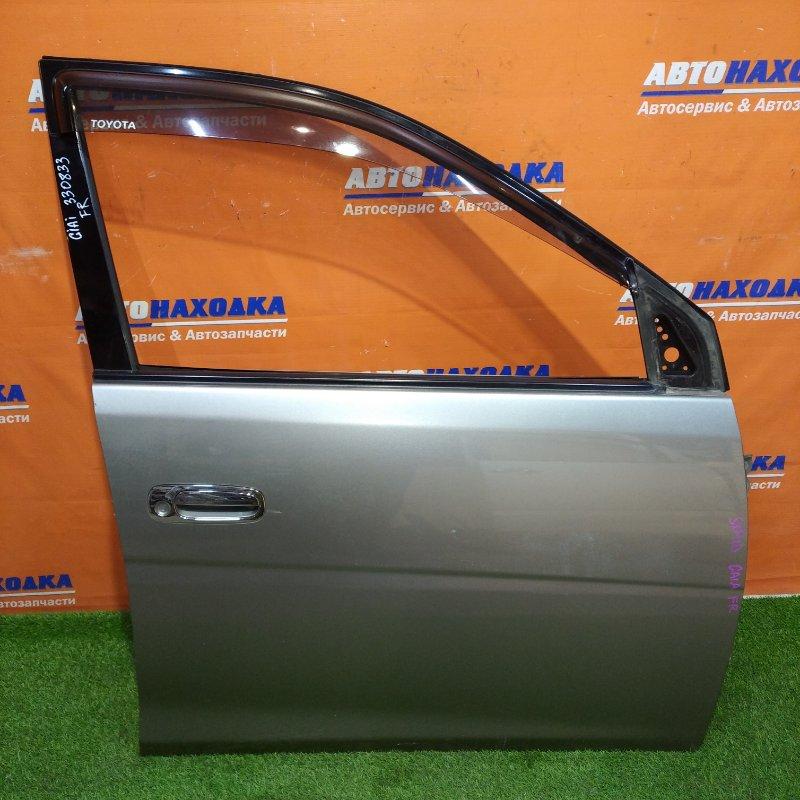 Дверь Toyota Gaia SXM10 3S-FE 1998 передняя правая