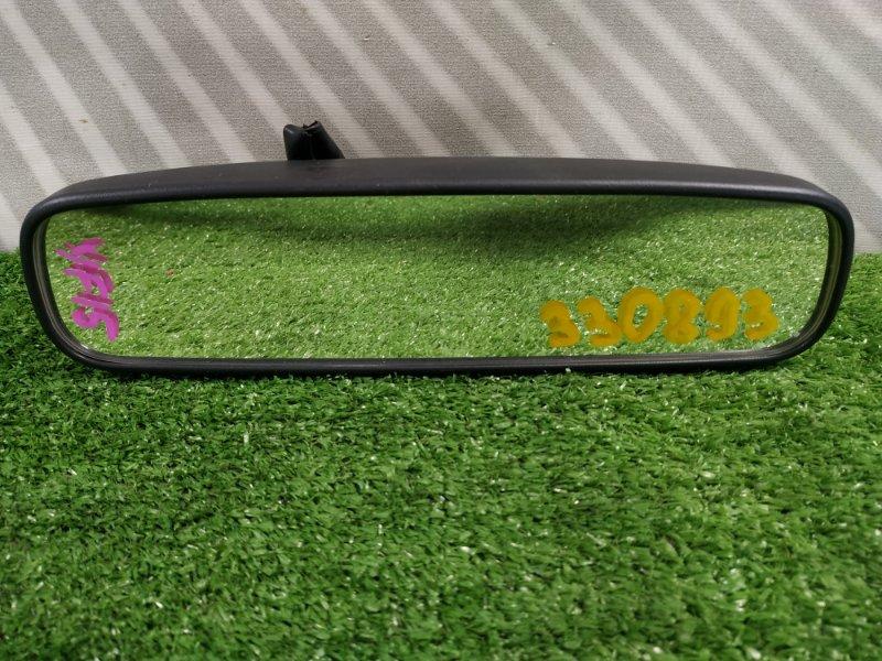 Зеркало салонное Nissan Juke FY15 HR15DE 2010 с фишкой