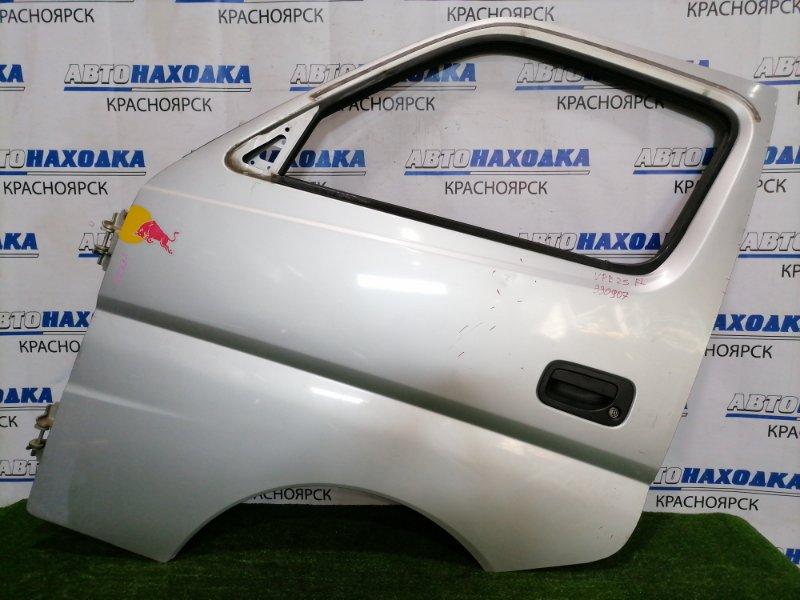 Дверь Nissan Caravan VPE25 KA20DE 2001 передняя левая передняя левая, в сборе, есть вмятина, сколы ЛКП,