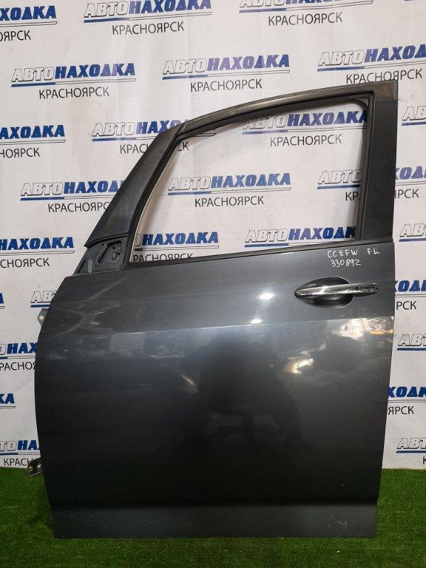 Дверь Mazda Biante CCEFW LF-VD 2008 передняя левая передняя левая, в сборе, цвет 36C, Есть мелкая
