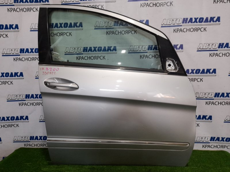 Дверь Mercedes-Benz B200 W245 M266 E20 2008 передняя правая передняя правая, в сборе, есть пара мелких