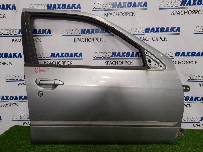 Дверь Nissan Primera WHP11 SR20DE 1997 передняя правая передняя правая, без блока управления